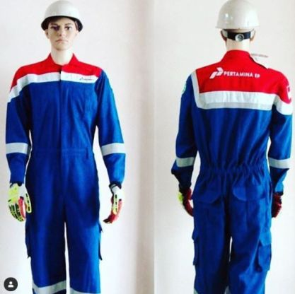 Coverall Seragam Safety Wearpack Pertamina / Coverall Pertamina 1 coverall_pertamina